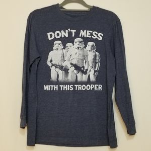 Xl Star Wars long sleeve t-shirt storm troopers
